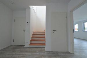 Eingangsbereich Dachgeschoss-Wohnung